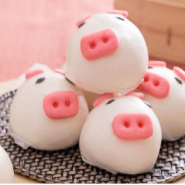小豬甜包(芋頭餡) 1