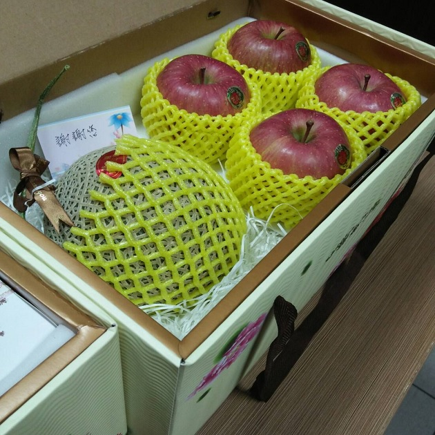 温室網瓜+蜜蘋菓 1