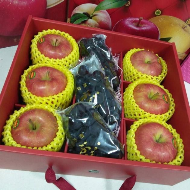 溫室葡萄+青森蜜蘋 1